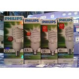 Philips Classic Combo Pack (15,20,23,27 Watt) Tornado Cfl (Set of 1pc each)
