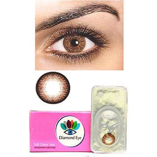 buy attractive diamond eye unisex brown color monthly