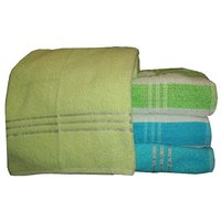 Bp Combo Of 4pc Luxury Bath Towel - Green & Blue