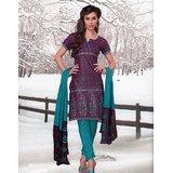 Elegant Dress Material Elegant Unstitched Salwar Kammez D.No VAR7006