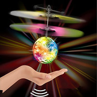 Sterling Toys Gravity Sensor Disco Flying Ball Palm UFO Mini UAV