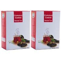 99 Herbal Tea Cholestrol Control  200 Gms (2 Packs, 100 Gms Per Pack)