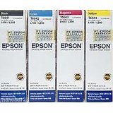 Epson Genuine Ink All Colour Set For L100/L200/L210/L350/L355/L550/L555
