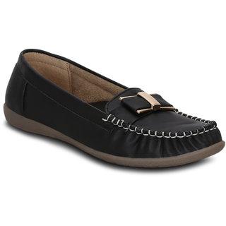 Kielz-Slip On-Black-Synthetic-Loafers