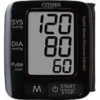 Citizen CH-650 Blood Pressure Monitor Stylish Black Micro Humantech