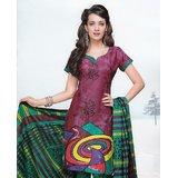 Elegant Dress Material Elegant Unstitched Salwar Kammez D.No VAR7009