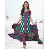 Elegant Dress Material Elegant Unstitched Salwar Kammez D.No VAR7010