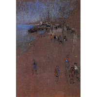 The Zattere, Harmony In Blue And Brown By Whistler