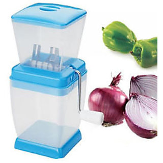 Onion & Vegetable Manual Cutter Chopper available at ShopClues for Rs.129