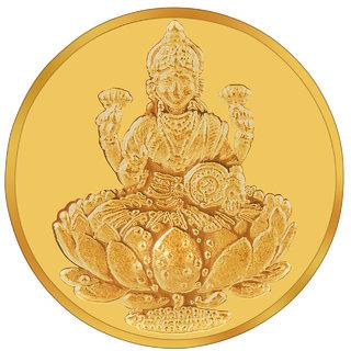 RSBL BIS Hallmarked 5 grams 24k (995) Yellow Laxmi Precious Coin