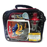 Jungle Magic Lunch Packz - Lunch Box With Sanitizer And Water Bottle - 4701334