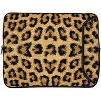 Designer Sleeves 15MS-LEO 15 Inch Laptop Sleeve (Brown)