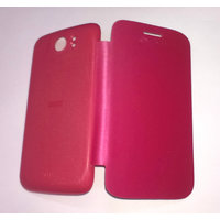 Premium Flip Case Cover For Micromax A110/A110Q Canvas2/2 PINK