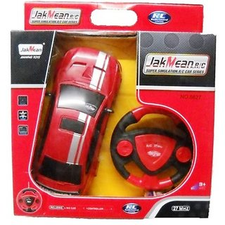 Jak Mean Remote Control Rechargeable Car With Steering - Remote Control Recharge ( Three Colours)