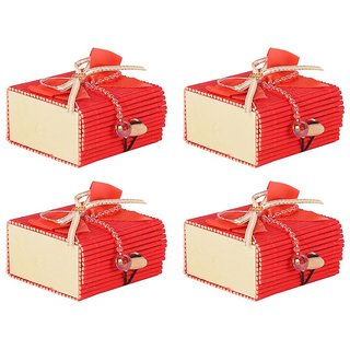 6th Dimensions Wooden Decorative Box - Pack Of 4