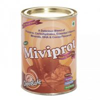 Miviprot Protein Powder (Chocolate) - 200 gm (with DHA, Vitamins  Minerals)
