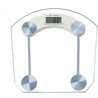 Transparent Glass Digital Weighing Scale