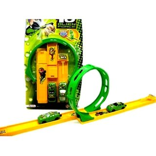 DDH Ben10 racing car with track