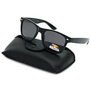 WAYFARER Sunglasses BLACK POLARIZED