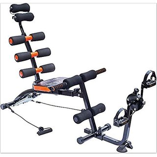 IBS 22 in 1 Six Packs Wonder Core Zone Flex Care Home Fitness Pump Gym Six Pack Cruncher Pacck Body Builder With Cycle