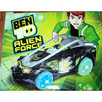 BEN10 SUPER RACING CAR WITH FLASH LIGHT WHEEL & SOUND GIFT TOY