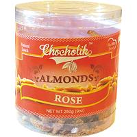 Almonds Rose 250gm - Chocholik Dry Fruits