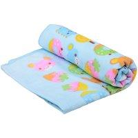 OMG Super Soft Blue Eat Me Sweet Candy Cotton Baby Bath Towel - Set Of 1