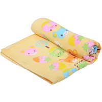 OMG Super Soft Yellow Eat Me Sweet Candy Cotton Baby Bath Towel - Set Of 1