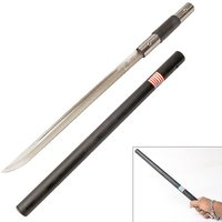 Hidden Blade Sword Cane For camping hiking or Ladies Self Defence stick