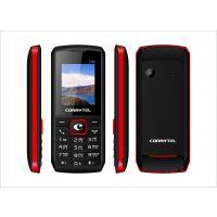 Corbytel (1.8 inch / DS / Wireless FM / 1050 mAh battery/GPRS) ( Black-Red)