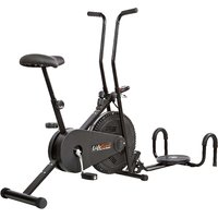 Lifeline Exercise Cycle Bike With Twister & Push Up Wheel Like Cooling Fan Gym