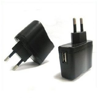 Universal USB Travel Home AC Wall Charger Adaptor + Micro USB Data Cable FREE