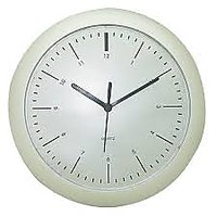 Designer Steel Wall Clock- Black