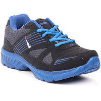 Foot N Style Black & Blue Sports Shoes FS469