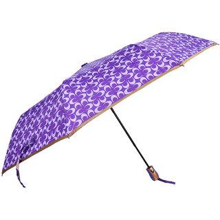 murano auto open cream color 3 fold piping Umbrella