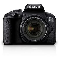 Canon EOS 800D Kit (EF S18-55 IS STM) 24.2 MP DSLR Camera (Black)