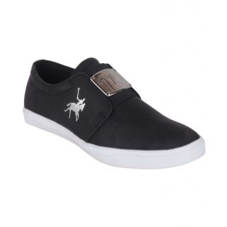Aadi Polo Sneakers Black Casual Shoes