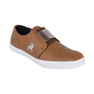 Aadi Polo Sneakers Tan Casual Shoes