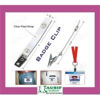 Badge Clip / I.D. Card Metal Clip (Qty : Pack 100 Pc. Box)