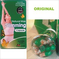 GREEN NATURAL MAX Slimming Capsule - 100% Herbal - ORIGINAL - Expiry 2016