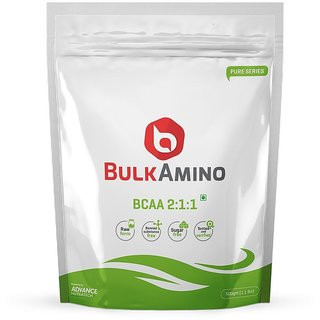 Bulkamino BCAA 211 500gram(1.1Lbs)