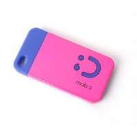 Callmate Smiley Back Case For IPhone 4/4S - Dark Pink