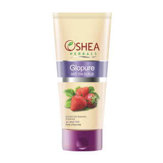 Oshea Herbals Glopure  Anti Tan  Scrub 60 gm All Skin Typespack of 3 available at ShopClues for Rs.305
