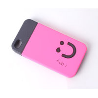 Callmate Smiley Back Case For IPhone 4/4S - Pink