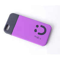 Callmate Smiley Back Case For IPhone 5/5S - Purple