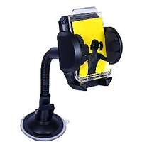 Car Mobile Holder For Mobile Phones & PDAs (Black) - VZ-FLXS-01