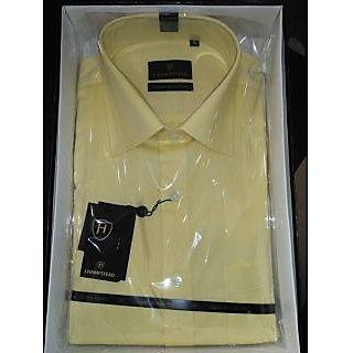 Mens Formal Shirts Light Yellow