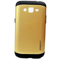 Wolf Accessories Spigen Sgp Slim Armor Back Cover Case For Samsung Galaxy Grand-2/7106-Golden
