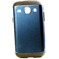 Wolf Accessories Spigen Sgp Slim Armor Back Cover Case For Samsung Galaxy Core Blue