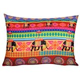 TEC Cushion Cover Temple Elephant 14x19